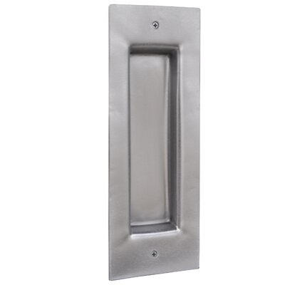 "Stainless Steel Vista 5 3/8"" Center Recessed Pull"