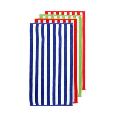 Striped Beach Towel Towel Set