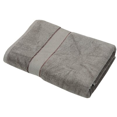 Luxurious 2 Piece Bath Towel Color: Gray