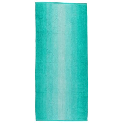 Velour Beach Towel Color: Ombre Green