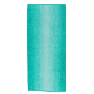 Velour Beach Towel Color: Ombre Green