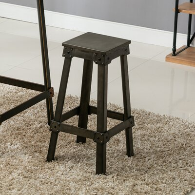 French Industrial Counter Bar Stool