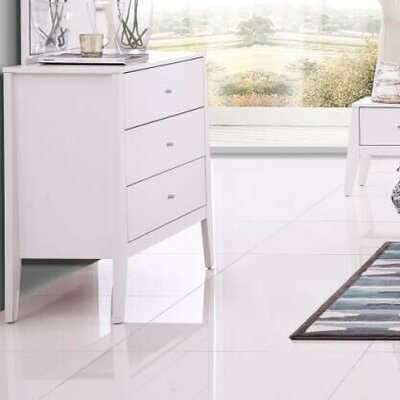 Lucia 3 Drawer Standard Dresser