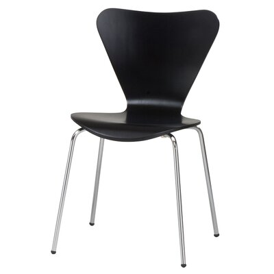 Anna Side Chair Finish: Black