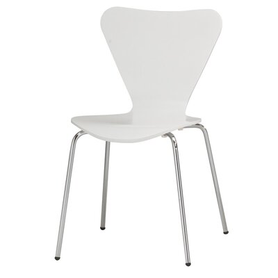 Anna Side Chair Finish: White