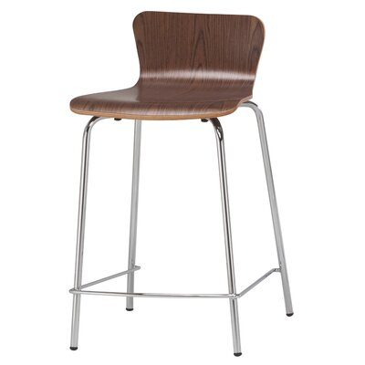 24.5 Bar Stool Finish: Walnut