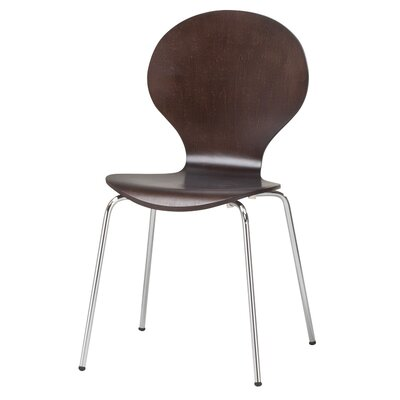 Elsa Side Chair Finish: Espresso