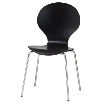 Elsa Side Chair Finish: Black