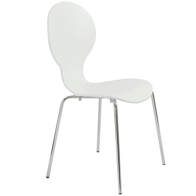 Elsa Side Chair Finish: White