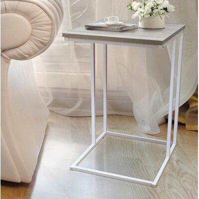 Cadorette Modern End Table Color: Light Wood