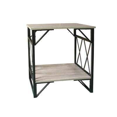 Dutch Farmhouse End Table Table Top Color: Rustic Gray