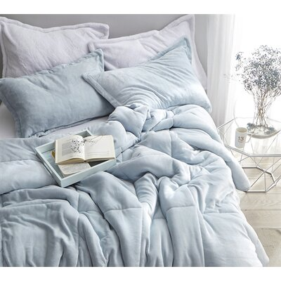 Box-Baffled Stitch Heavyweight Comforter Size: King