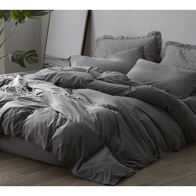 Romeo Sheet Set Size: Queen, Color: Gray