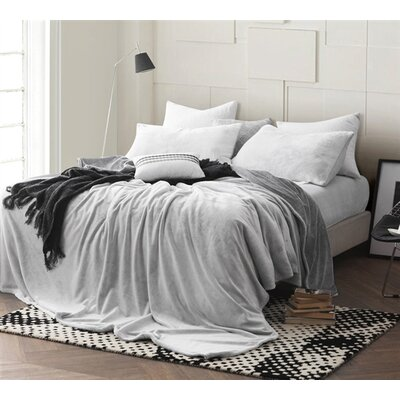 Pinney Sheet Set Size: Twin XL, Color: Gray