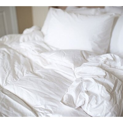 330 Thread Count Midweight Duck Down Comforter Size: Full/Double