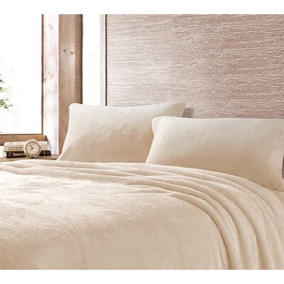 Boulder Brook Comfy Microfiber Sheet Set Size: Queen, Color: Ecru