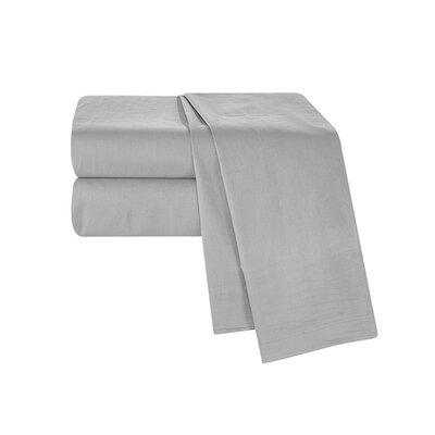 Boulevard Sheet Set Size: Twin XL, Color: Alloy Gray