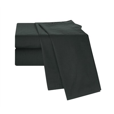 Boulevard Sheet Set Size: Queen, Color: Black