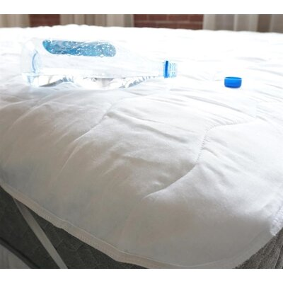 Waterproof Cotton Mattress Pad Bed Size: Twin