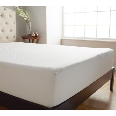 Serene 10 �Memory Foam Mattress Topper Bed Size: King