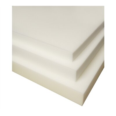 2 Memory Foam Mattress Topper Bed Size: Twin