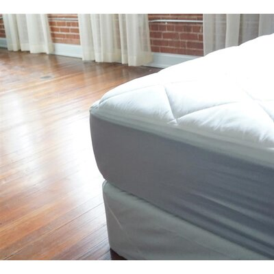 Cotton Mattress Pad Bed Size: Full