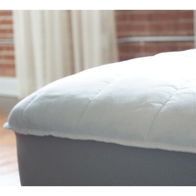 Extra Thick Cotton Mattress Pad Bed Size: Twin XL