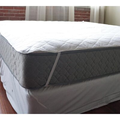 Waterproof Polyester Mattress Pad Bed Size: Twin