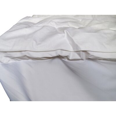 Featherbed Twin XL Mattress Pad Material: 100% Cotton