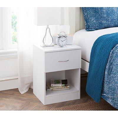 Remillard Standard Nightstand Color: White