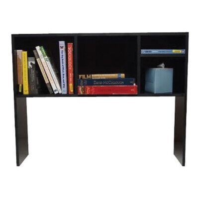 The Cube Desk Bookshelf Finish: Black
