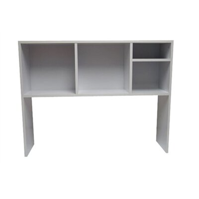 The Cube Desk Bookshelf Finish: White