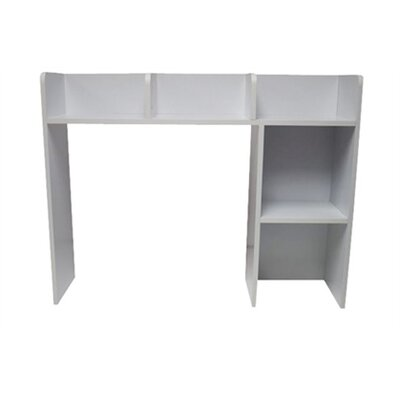 Classic 29 H x 37 W Desk Bookshelf Finish: White