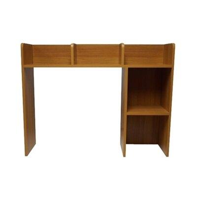 Classic 29 H x 37 W Desk Bookshelf Finish: Beech