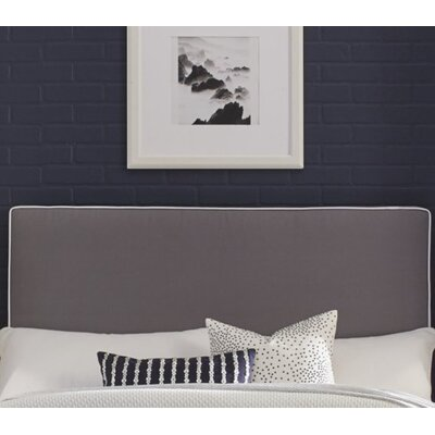 Callier Perfect Fit Square Headboard Pillow Upholstery: Gray