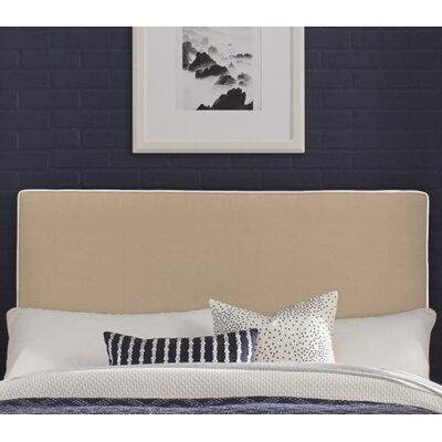 Callier Perfect Fit Square Headboard Pillow Upholstery: Taupe