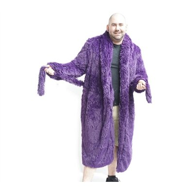 Brotoga Believe It Classic Version Bathrobe Size: XL, Color: Purple