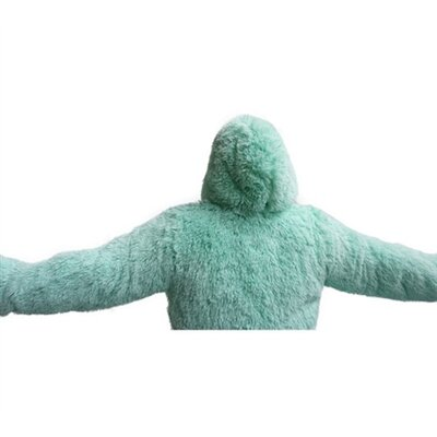 Brotoga Purity Baller Version Bathrobe Size: Large, Color: Calm Mint