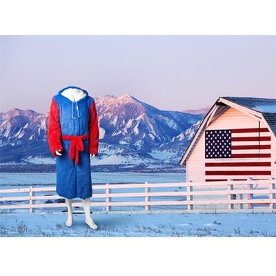 Brotoga American Buffalo Baller Version Bathrobe Size: XXL