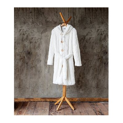 Brotoga Purity Baller Version Bathrobe Size: Large, Color: White