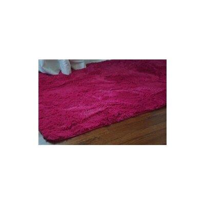 Ledoux Plush Pink Area Rug