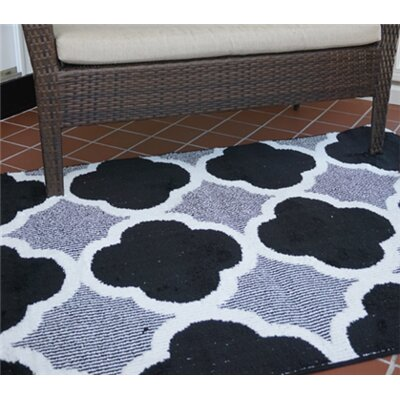 Norfolk Black/White Area Rug