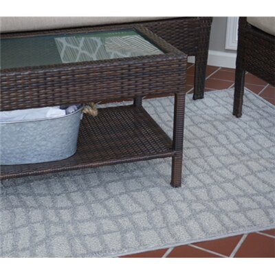 Alexios Crosshatch Gray Area Rug