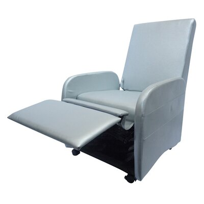 Bueno Compact Manual Recliner Upholstery: Silver