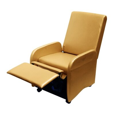 Bueno Compact Manual Recliner Upholstery: Gold