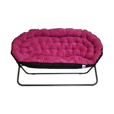 Bly Papasan Dorm Sofa Upholstery: Pink