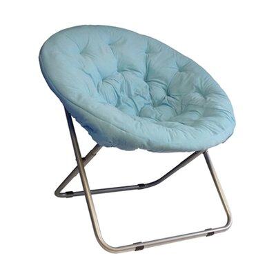 Gaskill Comfort Padded Papasan Chair Upholstery: Sky aqua