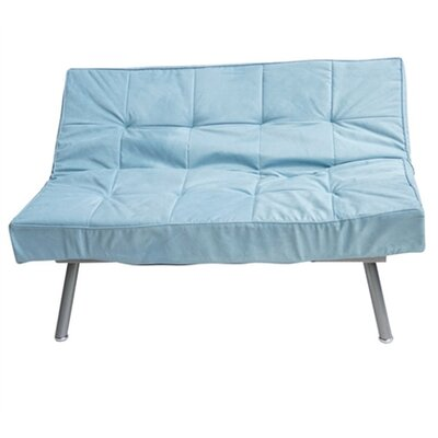 Philson Convertible Sofa Upholstery: Silver blue