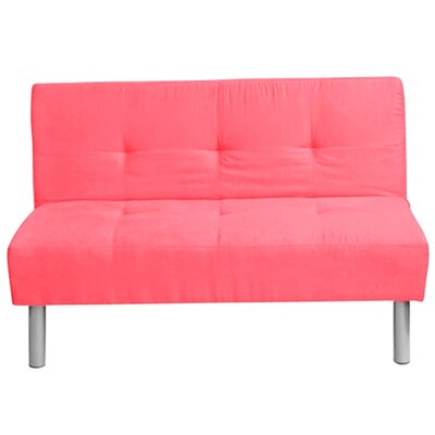 Altamiranda Convertible Sofa Upholstery: Candy pink coral