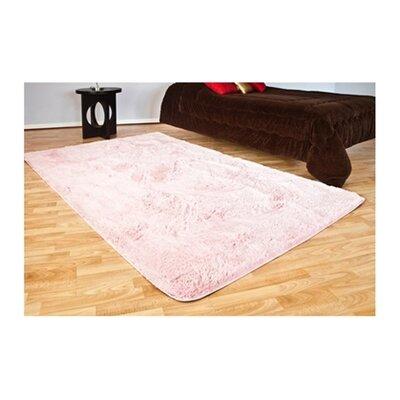Ledoux Plush Pink Area Rug Rug Size: 4 x 6
